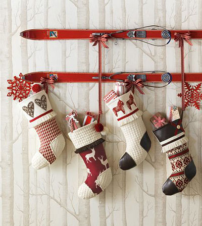 Рождество шұлықтары мұны өзіңіз жасайды