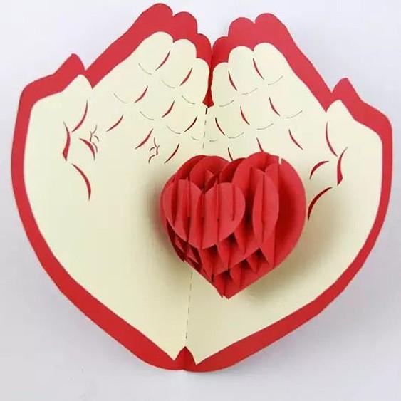 сердце на ладонях