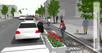 One-Way Protected Cycle Tracks - National Association of ...