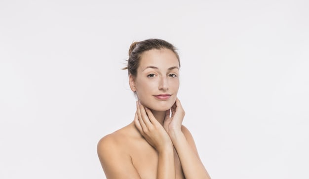 pele do pescoço