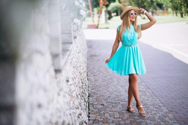 vestido simples