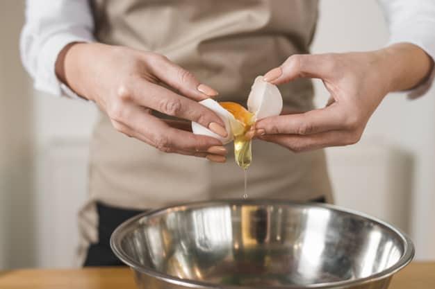 hidratação com ovo