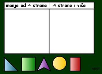 geometrija za decu razvrstaj oblike