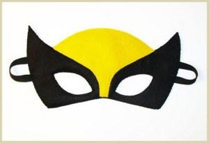 Noćni leptir - dečija maska