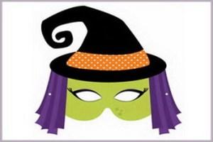 Veštica - dečija maska
