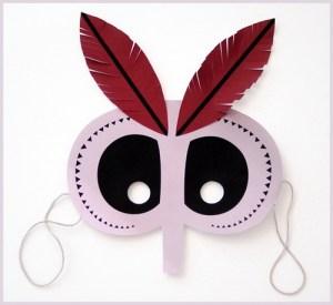 dečja maska - plemenski vrač