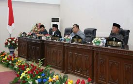 DPRD Rohul Paripurnakan Hasil Reses Masa Sidang II, Sekaligus Sahkan Empat Ranperda