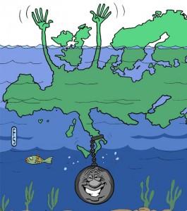 Fallimento a catena Europa