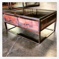 Glass Top Coffee Table with Drawers - Nadeau Alexandria