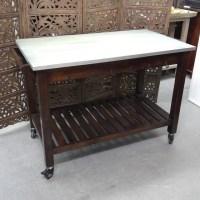 Kitchen Table on Wheels - Nadeau Charlotte