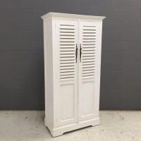 Short Louvered Door Cabinet - Nadeau Nashville