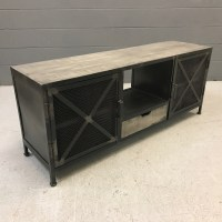 Iron And Wood Tv Stand - Nadeau Nashville