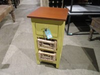 Nightstand with Baskets - Nadeau Raleigh