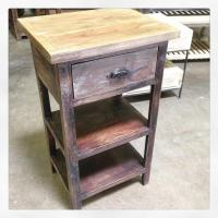 Bedside Table with Shelf - Nadeau Cincinnati