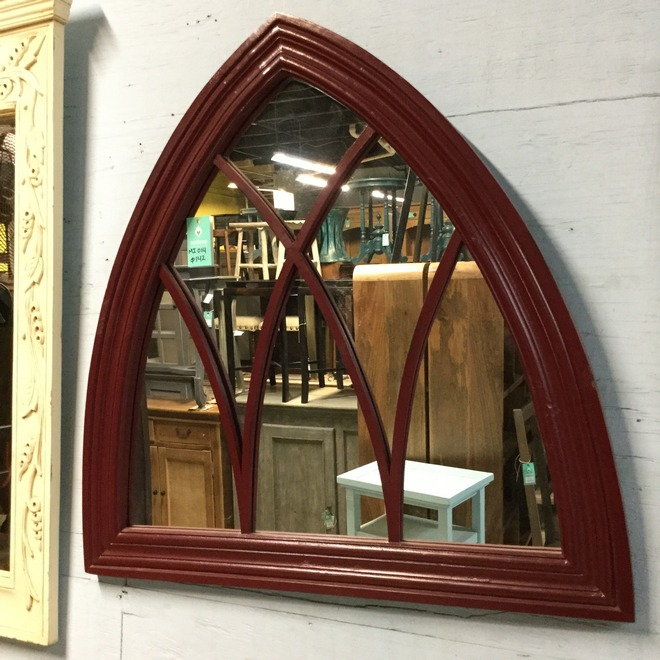 kitchen cabinets knoxville cheap rugs gothic arch mirror with tracery - nadeau miami
