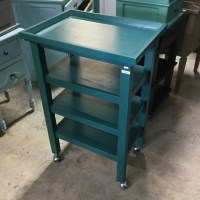 Kitchen Table on Wheels - Nadeau Miami