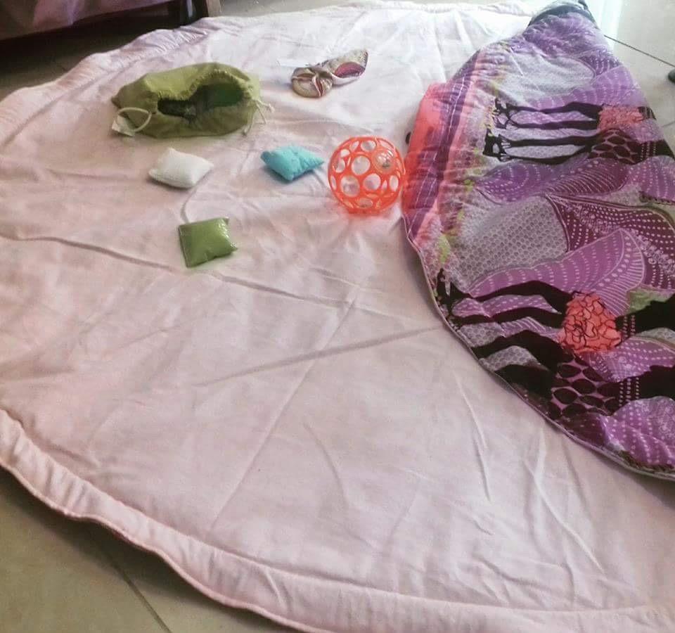 tapis de jeu sac jeux montessoris