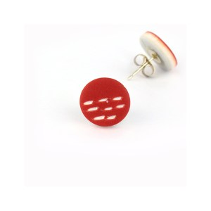 colourful stud earrings by nadege honey