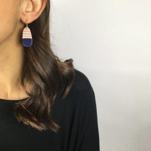 Breton earrrings by Nadege Honey