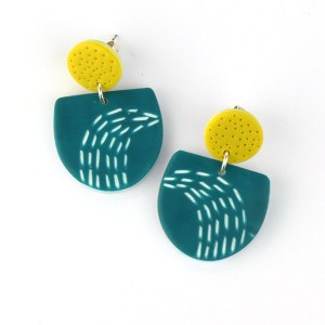 Doodle earrings by nadege honey