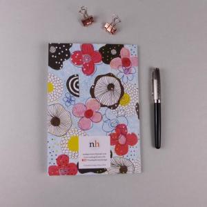 notebook Floral Pink by nadege honey