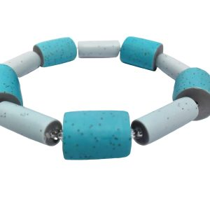 polymer clay bracelet by nadege honey