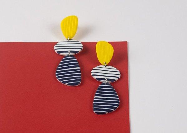 Breton earrings by Nadege Honey