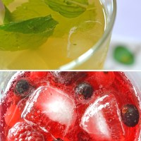 Cooling summer drinks and easy DIY styling