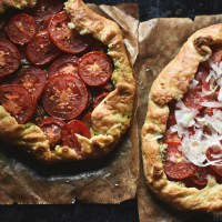 Simple, savoury, summer - Tomato galette