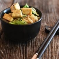 Hybrid - Udon salad with tofu