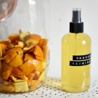 Sweet, fresh, clean - Homemade orange cleaner