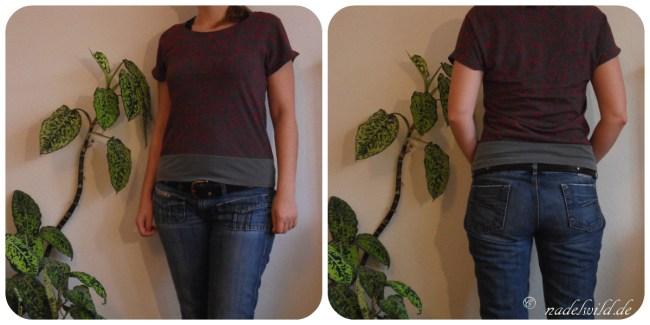Kostenloses T-Shirt Schnittmuster