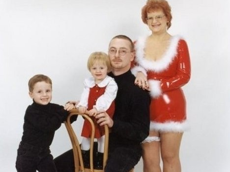 Sexy Christmas family