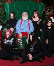 Death Metal Santa Claus