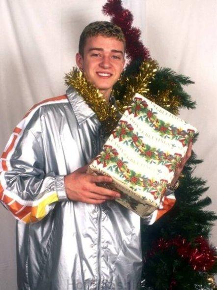Justin Timberlake Christmas Photo