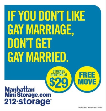 Manhattan Mini Storage Campaign 2011