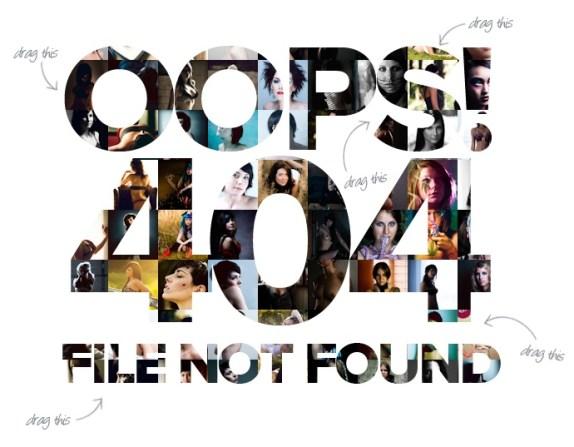 Creative 404 Page