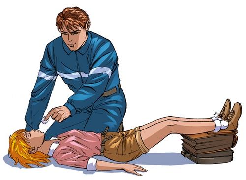 Первая помощь пострадавшему при внезапной потере сознания