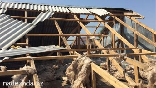 По словам исполняющего обязанности акима Зеленовского района Амангельды Тугузбаева, власти окажут материальную помощь после окончательной оценки ущерба. Случится это примерно через неделю.