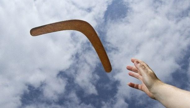 Bumerang…