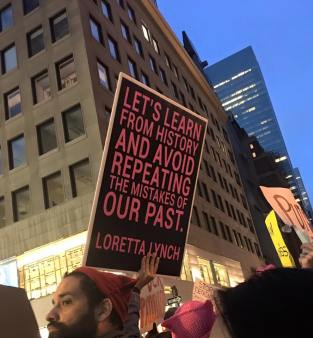 From the NYC Women's March