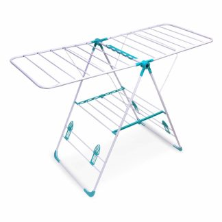 Bathla Mobidry Neo - Fold-able Clothes Drying Stand with Weather Resistant Frame (Blue)