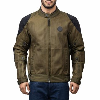 Royal Enfield Polyster Olive Riding Jacket