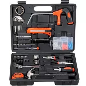Black Decker BMT108C Hand Tools Kit for Home Diy & Professional use