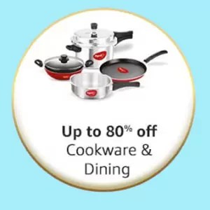 Great Indian Festival offer in Cookware & Dining