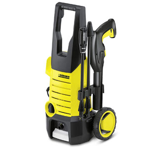 karcher 1400 watt high pressure home and car washer with wheels