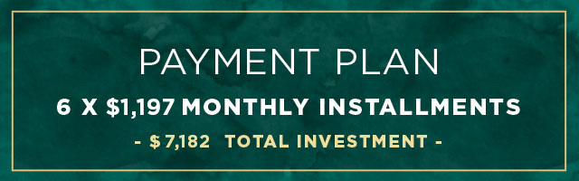 6-month vip private coaching payment plan