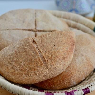 Marokkaans brood uit de oven