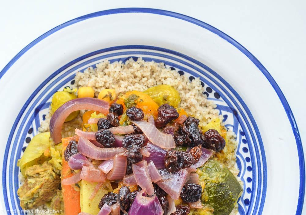 Marokkaanse couscous met lamsvlees