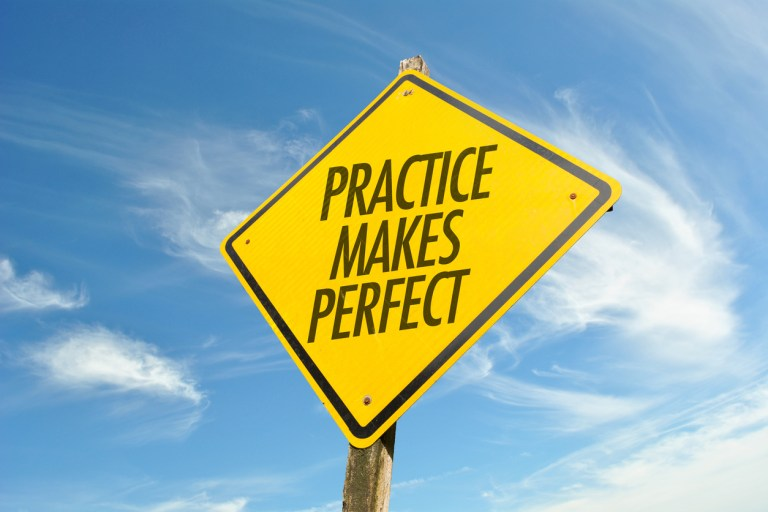 Practice Makes Perfect—or Does It?